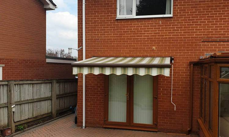 awning on a patro
